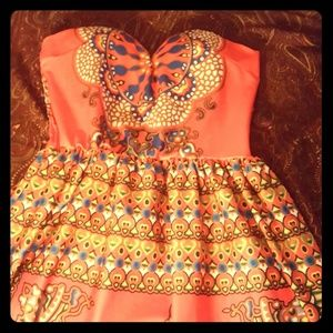 Dresses & Skirts - Red African dress